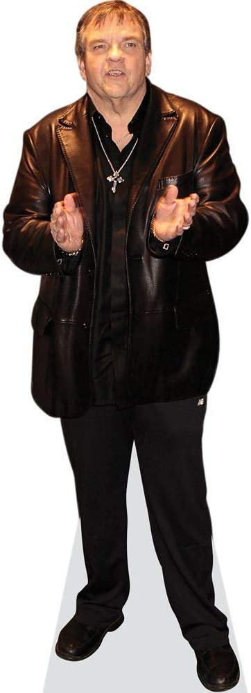 Casual Cardboard Cutout Standee. Meat Loaf lifesize