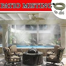 Patio Misting Kit - Pre- Assembled Misting System (24 ft - 4 Nozzles)