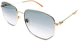 Gucci GG0396S-002 lunettes de soleil, Or, 56.0 Femme