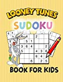 Looney Tunes Sudoku Book For Kids: Significantly improves memory for kids aged 7 -12 & Makes learning fun, Easey Sudoku for kids with Solution pages included