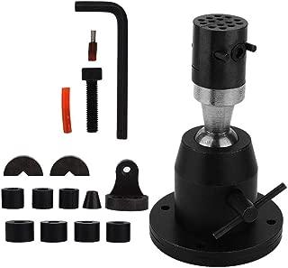 yuyte Jewelry Making Work Holder Clamp Kit, Universal Work Holder Peg Clamp Base Jewelry Making Vise Bench Tool Set