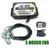 Kit Ethanol E85 4-cylindres, 4cyl E85 Kit de Conversion Carburant Alternatif à l'éthanol avec démarrage à Froid, biocarburant E85, Voiture à l'éthanol, convertisseur de bioéthanol (Bosh Ev6)