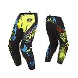 ONeal 3Series Riff Motocross Helm MX MTB FR DH Mountain Bike Freeride Downhill Fahrrad Farbe Schwarz Gr/ö/ße L 0623-R-Adult