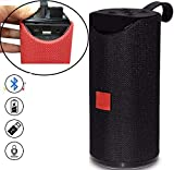 DRUMSTONE (Now with 1 Year Warranty) Heartbeat Wireless Portable Bluetooth Speaker with AUX,FM,USB & SD Card Compatible with All Devices (Multicolor)