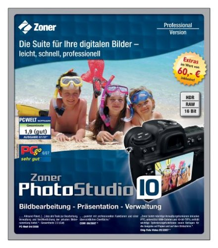bester der welt Zoner Photo Studio 10 Professional 2021