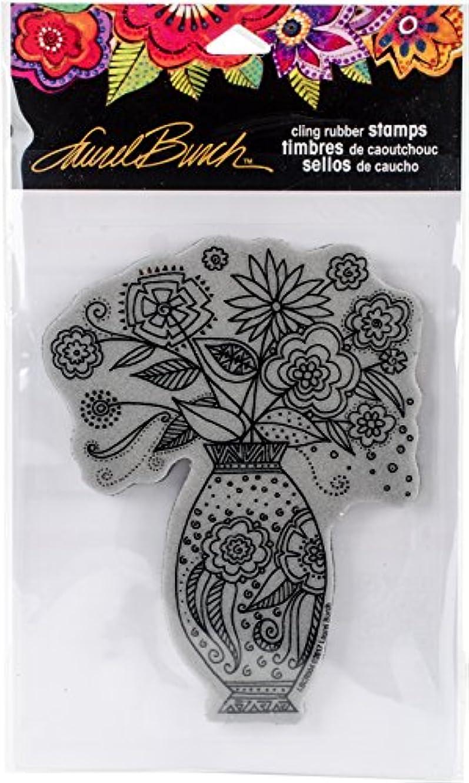 Stampendous Laurel Burch Stamp Floral Vase