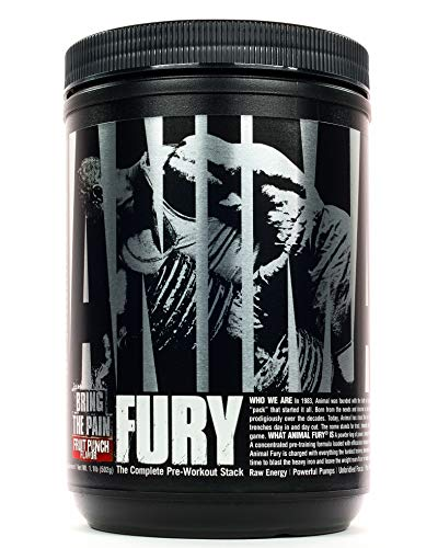 Universal Nutrition Animal Fury Pre-Workout Booster Trainingsbooster 491g (Fruit Punch - Fruchtmix)