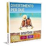 smartbox - Cofanetto Regalo - Divertimento per Due - Idee Regalo - 1 degustazione o Pausa Relax o attività di Svago per 2 Persone