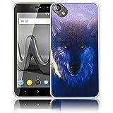 thematys Wiko Sunny 2 Plus Wolf Handy-Hülle Silikon - staubdicht, stoßfest und leicht - Smartphone-Case Wiko Sunny 2 Plus