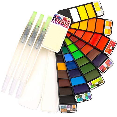 ARTSY Watercolor Paint Set