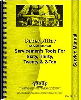 Caterpillar 60 Crawler Tools Service Manual (All SN#s)