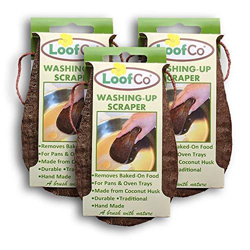 LoofCo Washing-Up Scraper Set of 3 Rascador de Lavado y