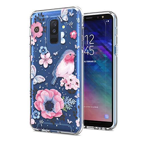 Eaglecell Schutzhülle für Samsung Galaxy A6 (2018) SM-A600 Slim Image Hülle AC2 Bird