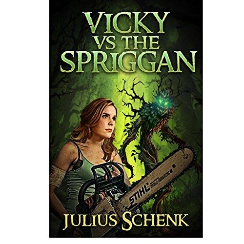 Vicky vs the Spriggan  audiobook cover art