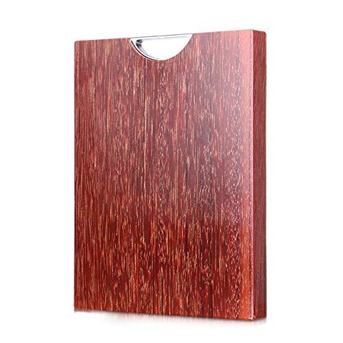 Schneidebrett LXJT Authentische Importierte Vietnamesische Eisen Holz Haushalt Küche Ganze Holz Starke Rechteckige Massivholz Tiefe Wartung 33 * 22 * 3 cm