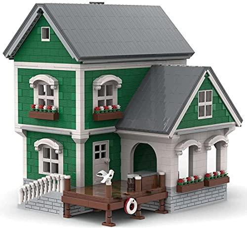 Muelle de construcción de partículas pequeñas de alta reducción compatible con Lego 21310, MOC DIY Arquitectura Adulto Juguete de construcción, MOC-40967 (3146+ piezas)