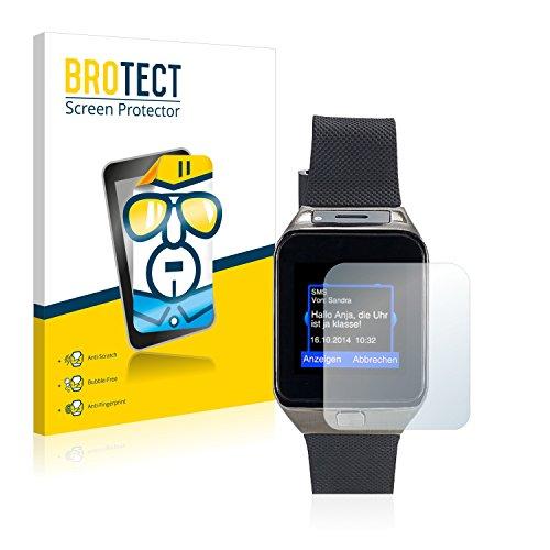 BROTECT Schutzfolie kompatibel mit Simvalley Mobile PW-430.mp 2016 (2 Stück) klare Bildschirmschutz-Folie