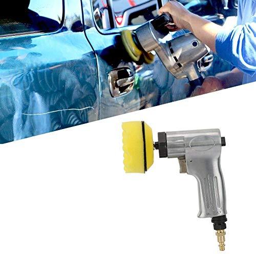 BINGFANG-W Discs Pneumatische Sander, 3-Zoll-Air Sander Pneumatische Poliermaschine Set Luftschleifer Poliermaschine Werkzeug Abrasive