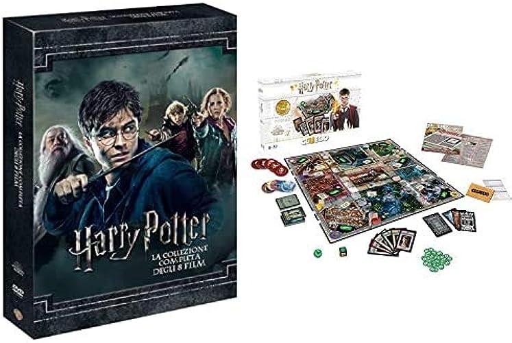 Dvd harry potter collection (standard edition) (8 dvd) + winning moves gioco da tavolo-cluedo harry WM00100-ITA-6