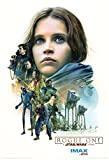 STAR WARS ROGUE ONE: A STAR WARS STORY Authentic Original Movie AMC IMAX EXCLUSIVE(2 of 3) Promo Poster - 13 x 19