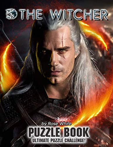The Witcher Puzzle Book: The Book Helps To Explore The Witcher After Stressful And Relaxing Working And School Hours