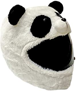 Panda Motorcycle Helmet Cover Sleeve, Funny Animal Full Face for Adults by Carbon Moto Gear D.I.L.L.I.G.A.F. Line