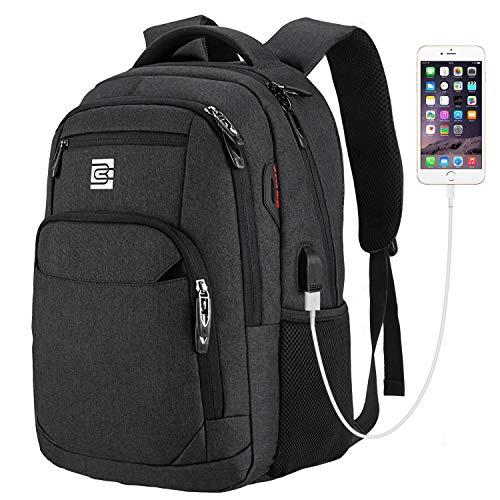 EletecPro Business 15.6 Zoll Laptop Rucksack Schulrucksack mit USB Multifunktionsrucksack für Damen und Herren Oxford Backpack 20-35L