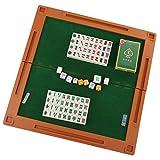 MagiDeal Chinesischen Mini Mahjong-Set für Familien/Reisen Spaß , 144 Fliesen -