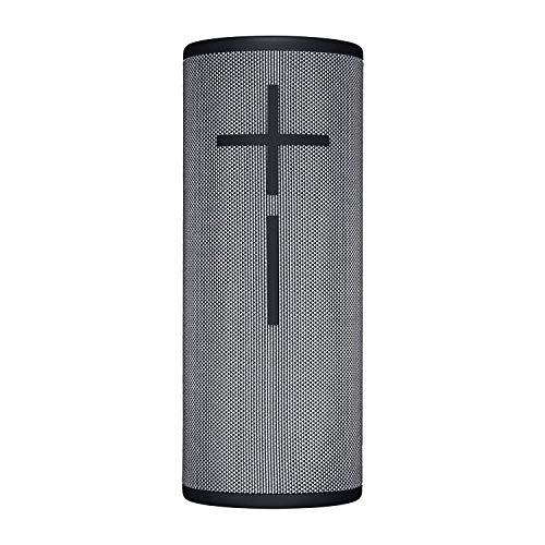 Ultimate Ears Boom 3 Tragbarer Bluetooth-Lautsprecher, 360° Sound, Satter Bass, Wasserdicht, Staubresistent & Sturzfest, One-Touch-Musiksteuerung, 15-Stunden Akkulaufzeit - storm/schwarz