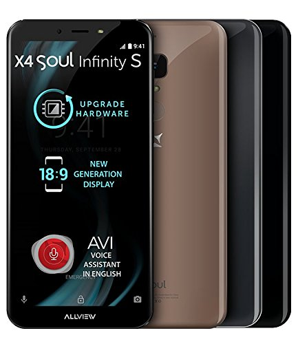 X4 Soul Infinity S 3GB RAM, 18:9, Metallic Grey