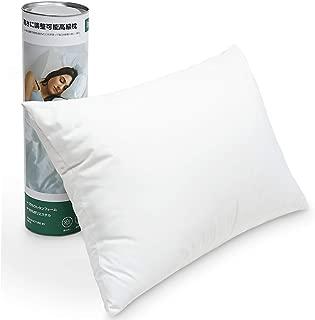Inple 2019新品枕 安眠 人気 肩こり高さ自由調節高反発枕 抗菌 防臭 ホテル仕様 丸洗い可能 (ホワイト)