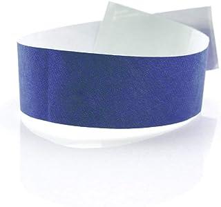 Fun Fan Line - 1.000 unités Bracelets d'identification 25 mm de large en papier tyvek. Bracelets de contrôle numérotés. No...