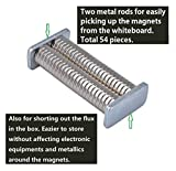 Magenesis Neodym 10x2 mm 52 Stück Mini Magnete Extrem Stark ca. 2 Kilo Haftstärke, 10 x 2 mm - 7