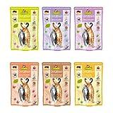 GranataPet Delicatessen Multipack ohne Fisch, Nassfutter für Katzen im Probierpaket, Alleinfuttermittel ohne Getreide, Katzenfutter mit hohem Fleischanteil & hochwertigen Ölen, 6 x 85g