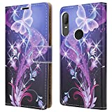 For Alcatel 3L (2020) Leather Phone Case, Magnetic Closure
