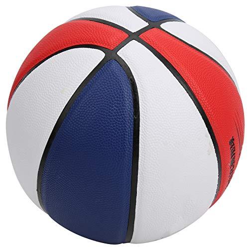 Baloncesto Interior y Exterior, Baloncesto de Entrenamiento con Pelota, Cuero PU tamaño 5 para Ejercicio Interior o Exterior Regalo para niñas y niños