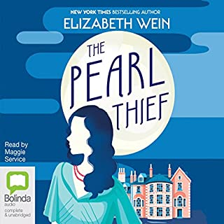 The Pearl Thief                   Written by:                                                                                                                                 Elizabeth Wein                               Narrated by:                                                                                                                                 Maggie Service                      Length: 7 hrs and 55 mins     23 ratings     Overall 4.5