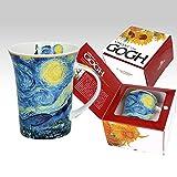 Carmani Tazza da caffè con scritta 'Vincent Van Gogh'