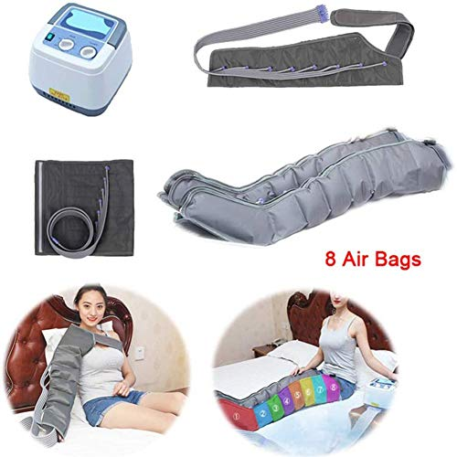Why Should You Buy DXFK.AM 8 Air Chambers Compression Leg Arm Waist Massager Multifuction Pressother...