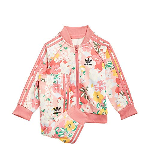 adidas GN2261 SST Set Tracksuit Baby-Girls Trace Pink/Multicolor/Hazy Rose 3-4A