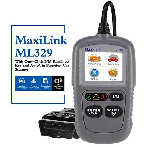 Autel ML329 KFZ-Auslesegerät OBD2-Diagnosegerät für Benzin Dieselmotor Mercedes-Benz BMW Opel VW Renault etc. Software free update