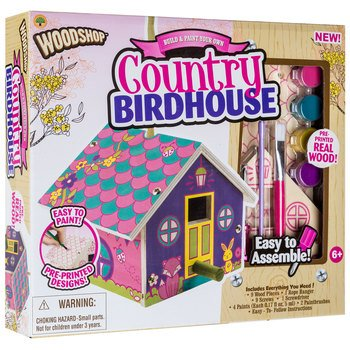 Peachtree Playthings Woodshop: Country Birdhouse Kit