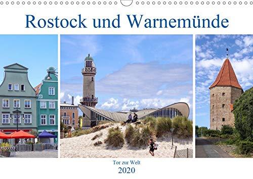 Rostock und Warnemünde - Tor zur Welt (Wandkalender 2020 DIN A3 quer): Rostock und Warnemünde - sichtbare Hansetradition (Monatskalender, 14 Seiten ) (CALVENDO Orte)