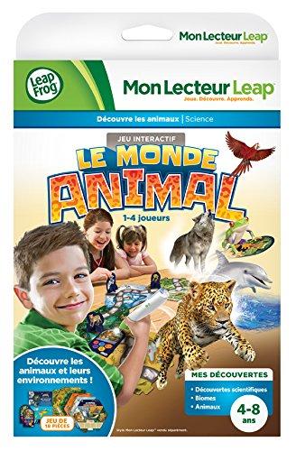LeapFrog - 81540 - Jeu De Société - Mon Lecteur Leap - Découvre Les Animaux