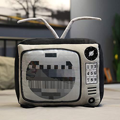 shenlanyu Stofftier Cartoon Retro Tv Kissen Kissen Soft Radio Fernsehkissen Schlafkissen Kissen Geburtstag Geschenk Home Schlafsofa Dekoration