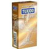 Tuxido «Dotted» 12 Kondome - Noppen-Kondome - Liebe, Vergnügen und Sicherheit
