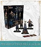 KNIGHT MODELS Juego de Mesa - Miniaturas Resina Harry Potter Muñecos Game: President Picquery & Aurors Version Inglesa