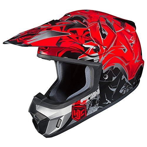 HJC(エイチジェイシー)バイクヘルメット オフロード レッド(MC1) L(59-60) CS-MX2グラフド HJH097