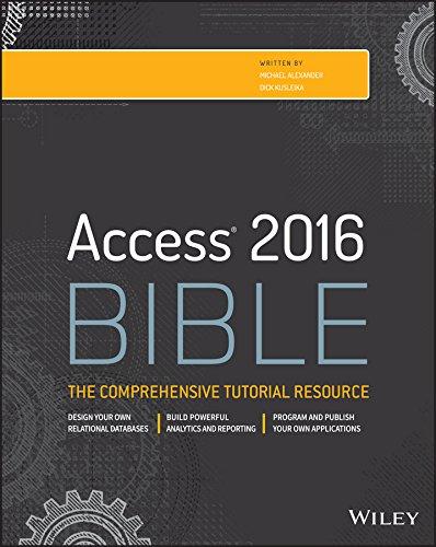 Access 2016 Bible (English Edition)