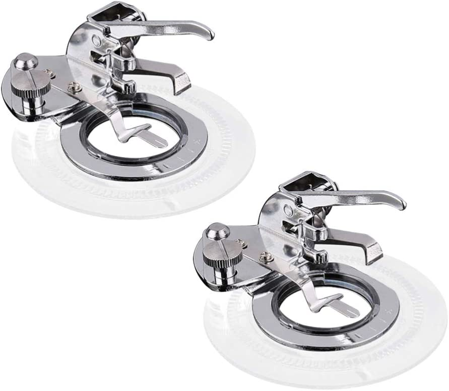 Healifty Choice 2 PCS Ranking TOP15 Professional Sewing Machine Set Feet Presser Circ